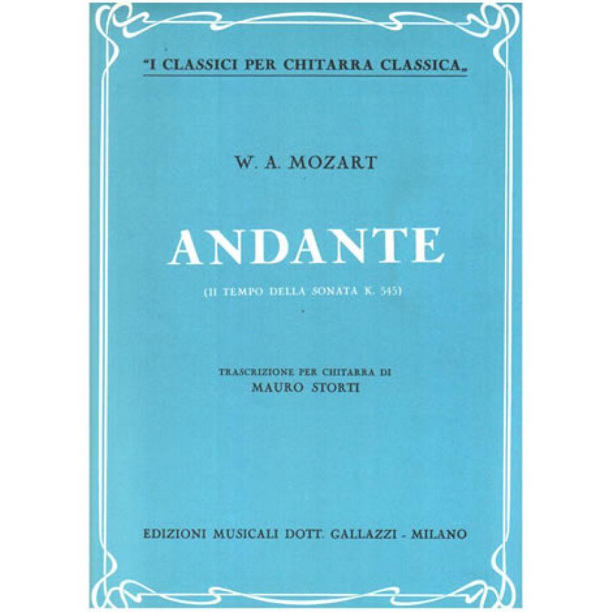 GALLAZZI W. A. Mozart - ANDANTE (II TEMPO DELLA SONATA K. 545)