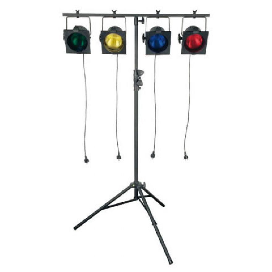SHOWTEC STAGE 1 BLACK - SISTEMA LUCI + SUPPORTO