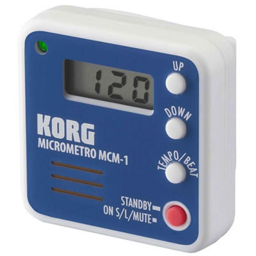 KORG microMETRO MCM 1BL - MICROMETRONOMO MULTISTRUMENTO