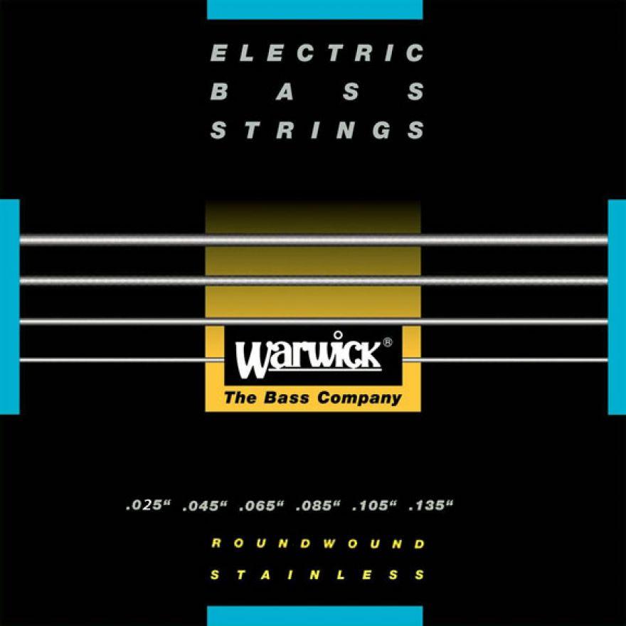WARWICK 40401 M 6 025/135 Black Label - MUTA PER BASSO 6 CORDE