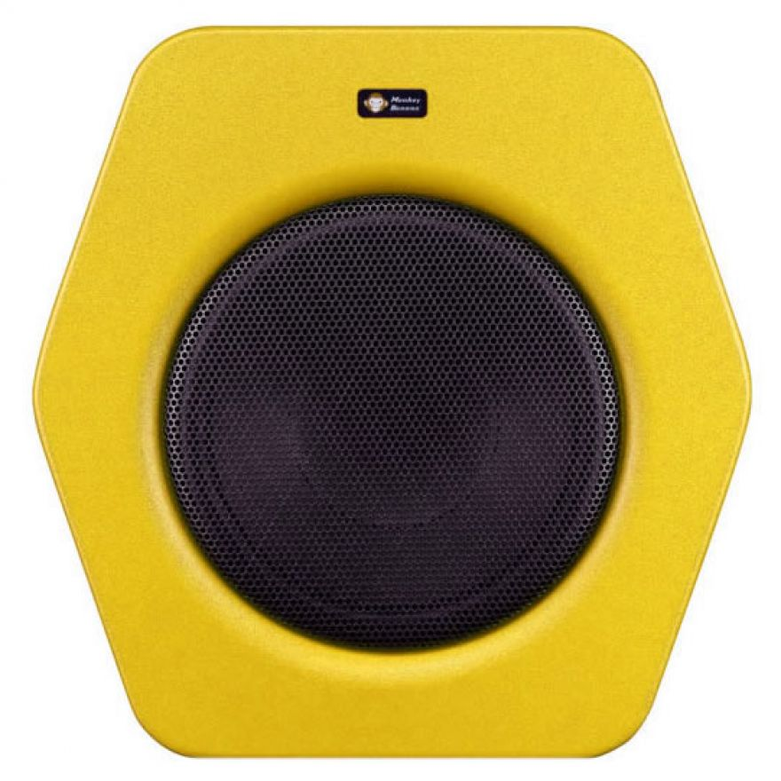 MONKEY BANANA Turbo 10 Subwoofer Yellow