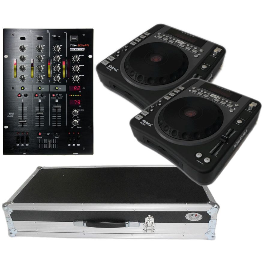 RELOOP Kit 02 - Mixer RMX30 + 2 lettori CDJ 320 + Flight Case