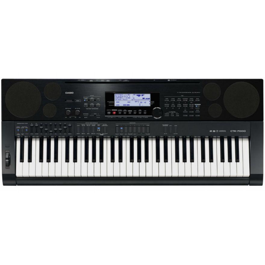 CASIO CTK7000 - TASTIERA 61 TASTI STILE PIANOFORTE