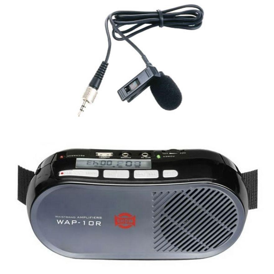 WAP 10R+LM10 Pulce - DIFFUSORE DA CINTURA 10W USB