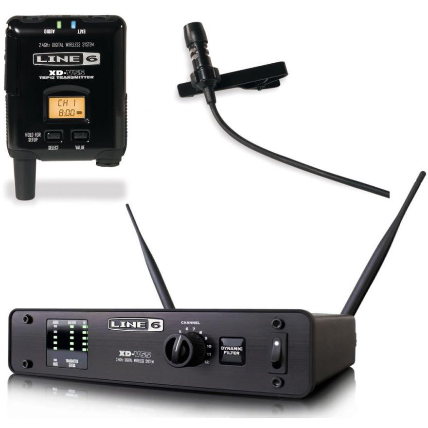 LINE6 XD V55L - RADIOMICROFONO DIGITALE LAVALIER