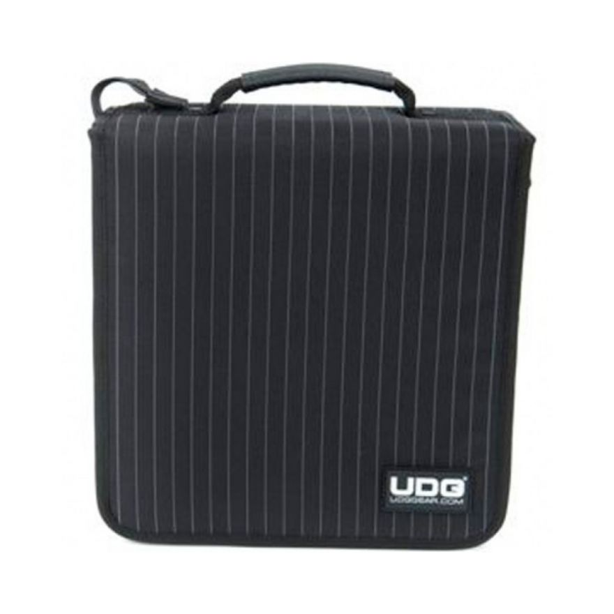 UDG CD WALLET 128 BLACK GREY STRIPE