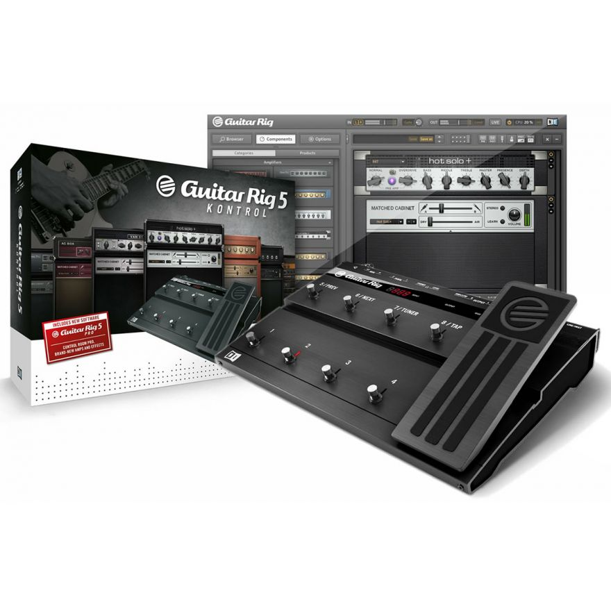 NATIVE INSTRUMENTS GUITAR RIG 5 PRO - KONTROL EDITION