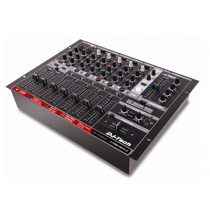 DJ TECH DX3000USB - MIXER DA DJ CON INTERFACCIA USB