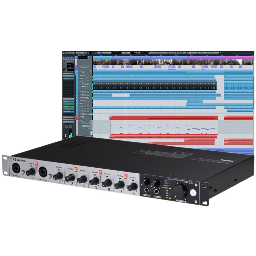 STEINBERG ULTIMATE CUBASE RECORDING PACK (UR824 + CUBASE 7.5)