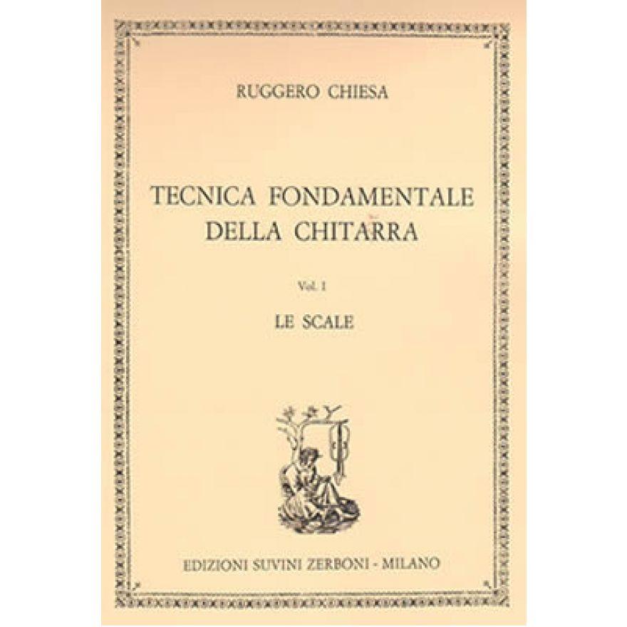 ESZ Chiesa - TECNICA FONDAMENTALE Vol. I: LE SCALE