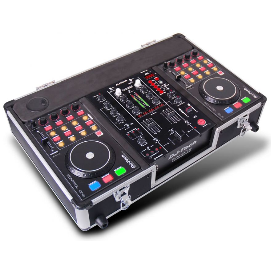 DJ TECH HYBRID 303 - COMPACT USB PLAYER PER DJ
