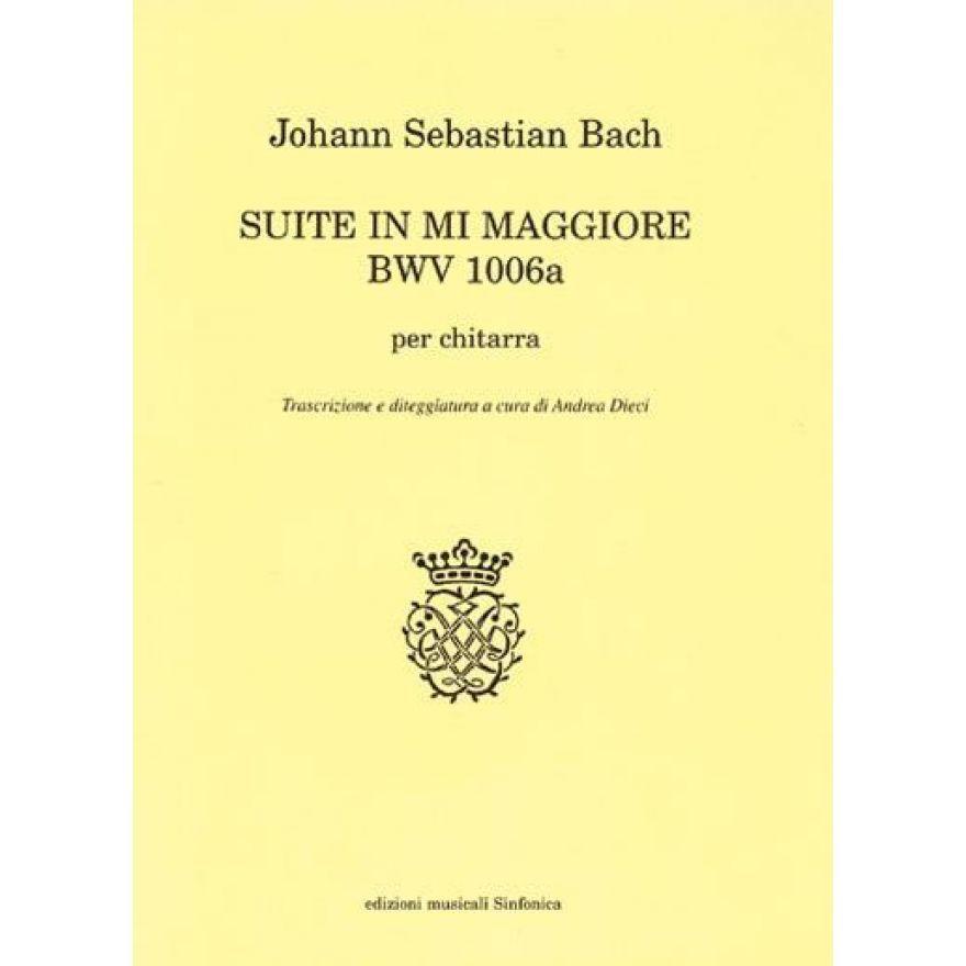 SINFONICA Bach, J. S. - SUITE In MI Maggiore BWV 1006a