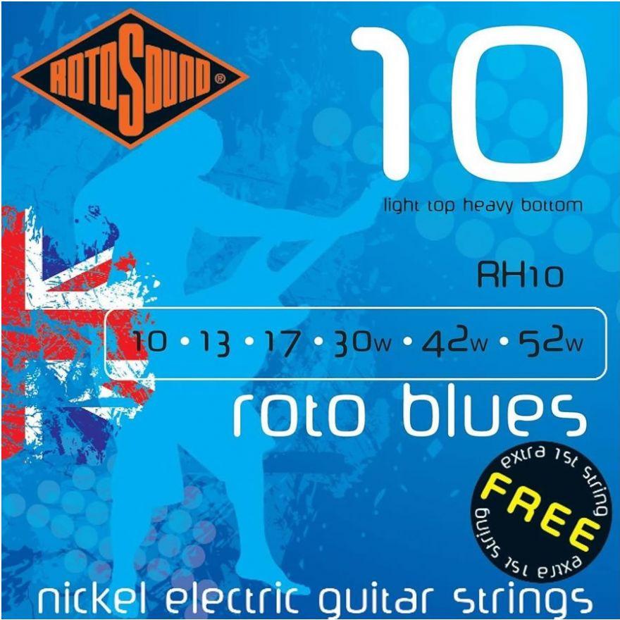 ROTOSOUND RH-10 - cordiera per chitarra acustica (0.10/0.52)