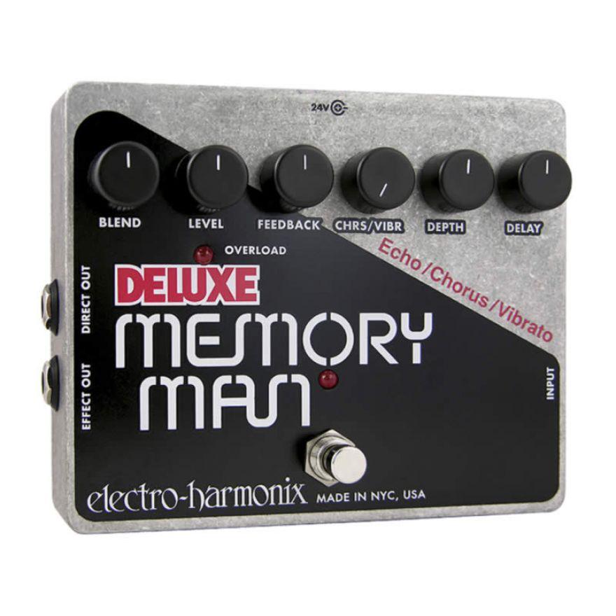 ELECTRO HARMONIX DELUXE MEMORY MAN-PADALE DELAY/CHORUS/VIBRATO