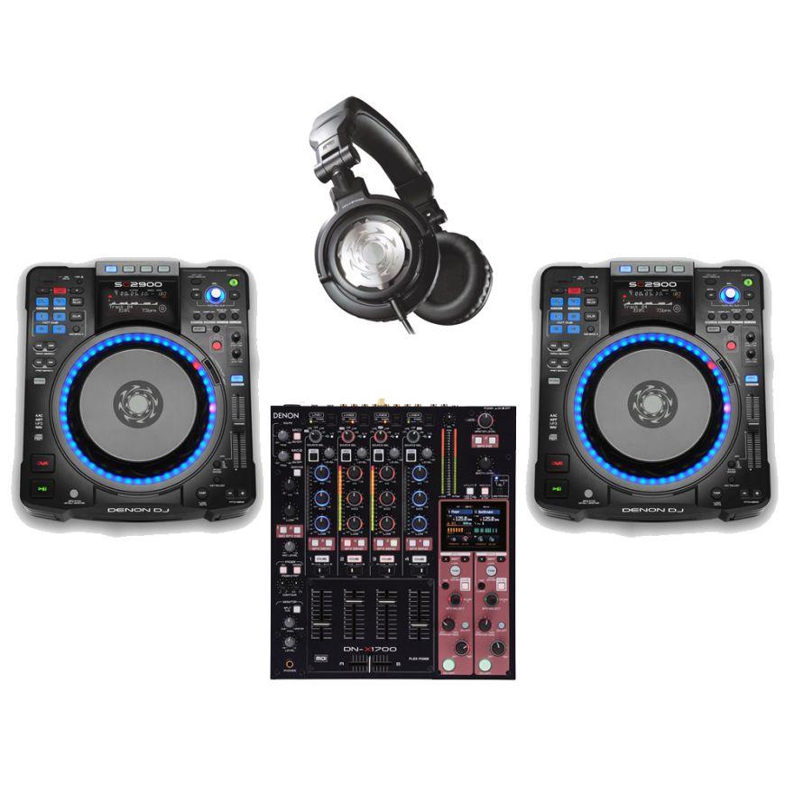 DENON DJ Bundle 3 Completo per DJ professionale