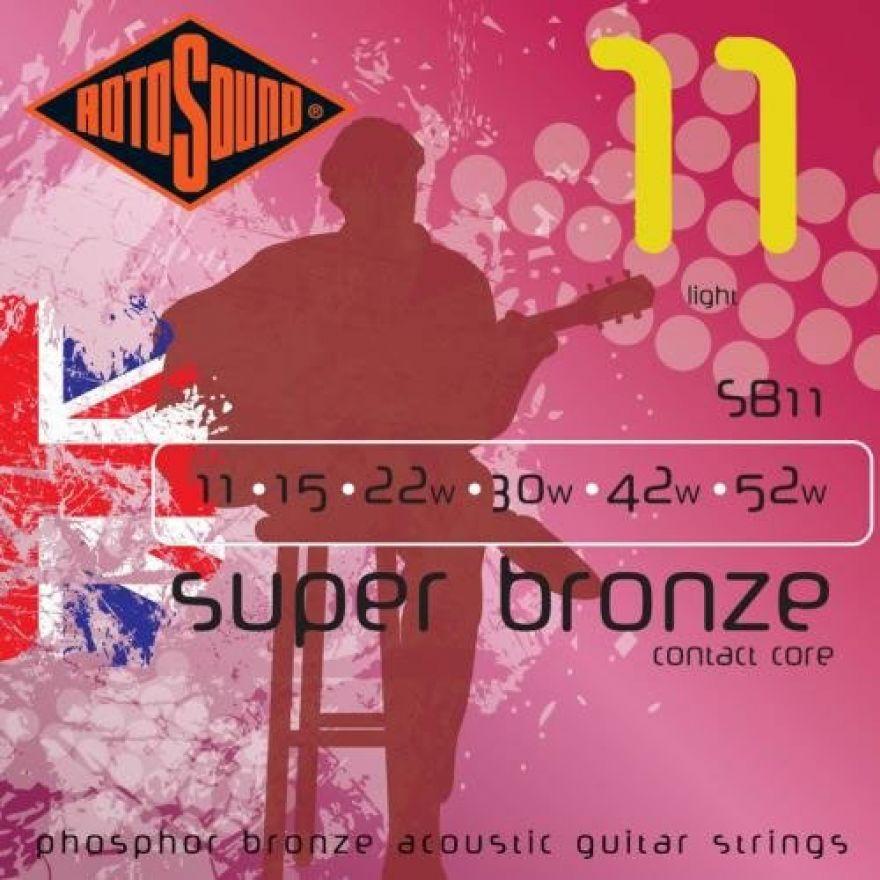 ROTOSOUND SB-11 - Cordiera per chitarra acustica (0.11-0.52W)