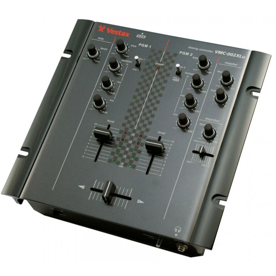 VESTAX VMC 002 XLU BLK - MIXER 2 CANALI PER DJ
