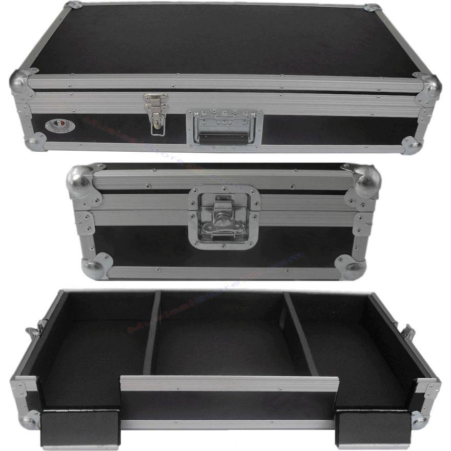 Flight case per 2 lettori cd CDJ2000 e mixer DJM800