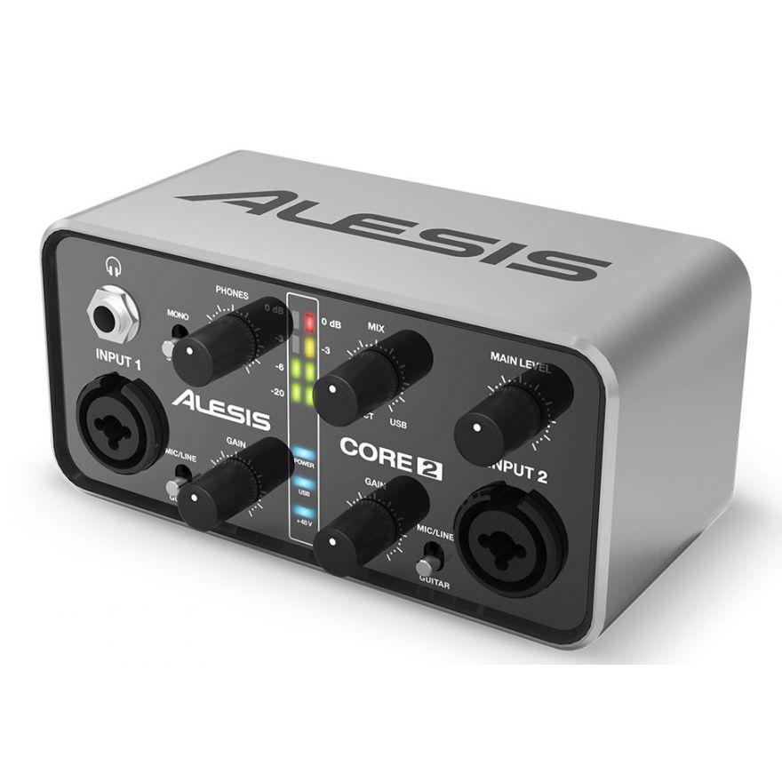 ALESIS CORE 2 - INTERFACCIA AUDIO MIDI/USB 2 CANALI
