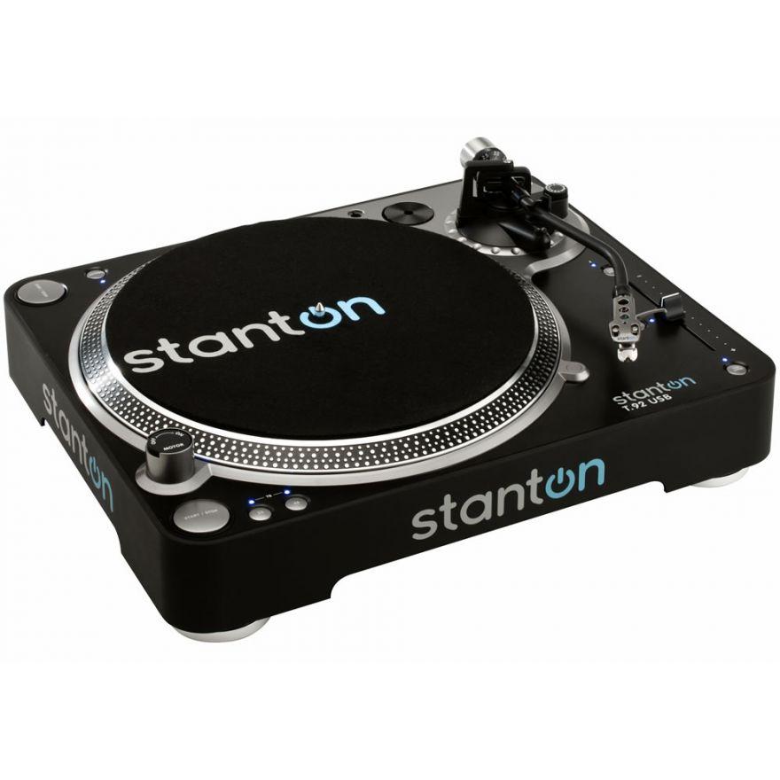 STANTON T92 USB - GIRADISCHI USB A TRAZIONE DIRETTA