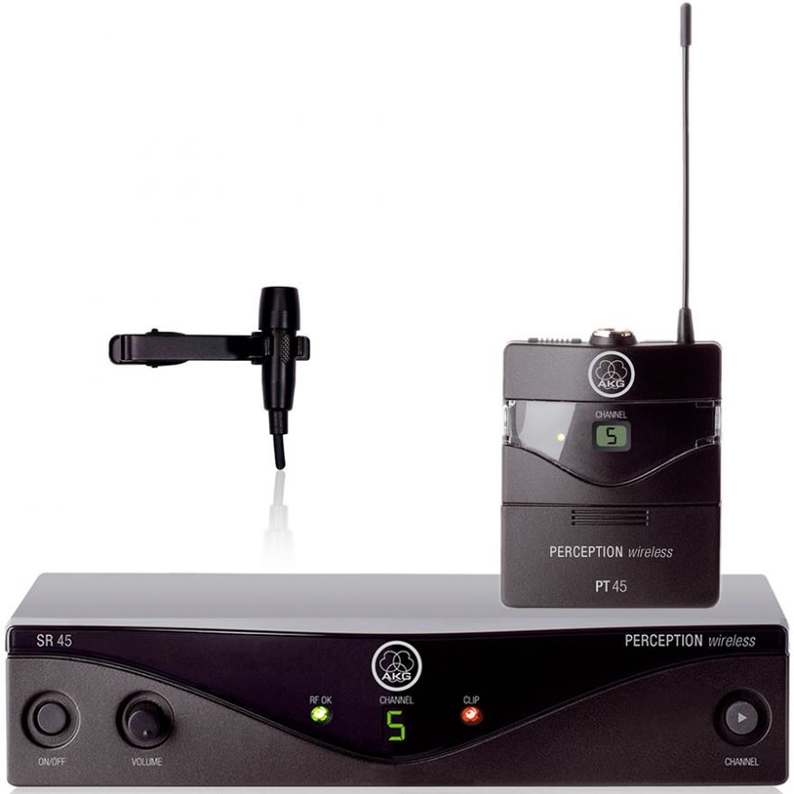 AKG WMS45 Perception Presenter Set / Mini Lavalier