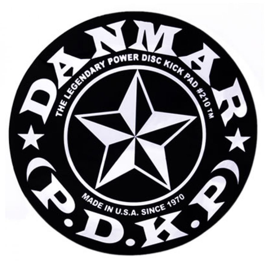 DANMAR 210STR Stars - KICK PAD PER PELLE GRANCASSA