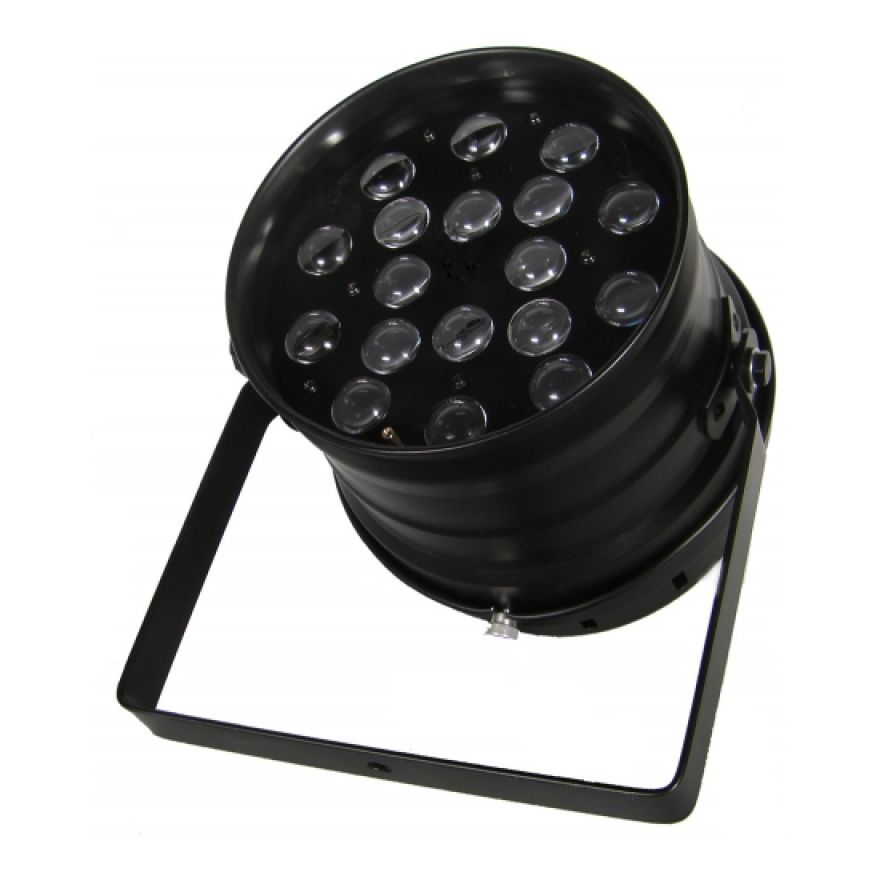 FLASH LED PAR 64 18x10W RGBW 4w1