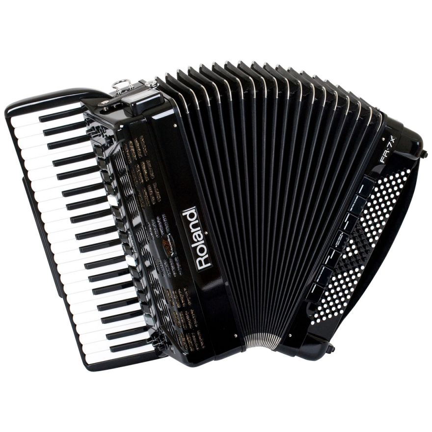 ROLAND FR7x BK Black V-Accordion - FISARMONICA DIGITALE A TASTIERA