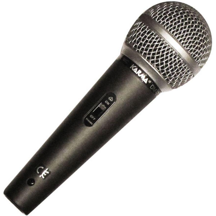 KARMA DM 790 - Microfono dinamico + supporto