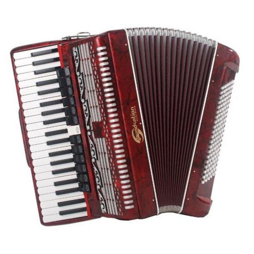 SOUNDSATION SAC-41120-45-RD - Fisarmonica 4 voci 41 tasti