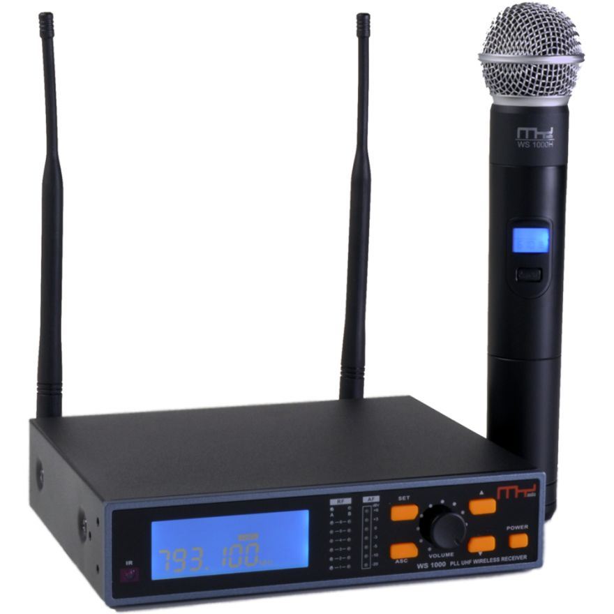 MyAudio WS1000H - SISTEMA WIRELESS UHF TRUE DIVERSITY