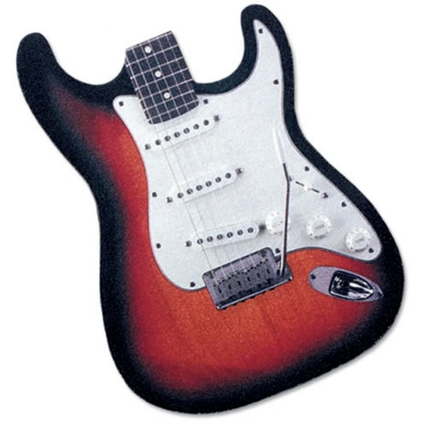 MPAD ST Mouse Pad - TAPPETINO PER MOUSE CHITARRA STRATOCASTER
