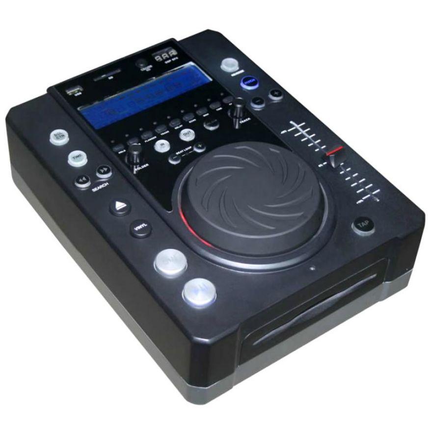 KARMA CDJ 190 - Lettore CD con MP3 e DSP per DJ