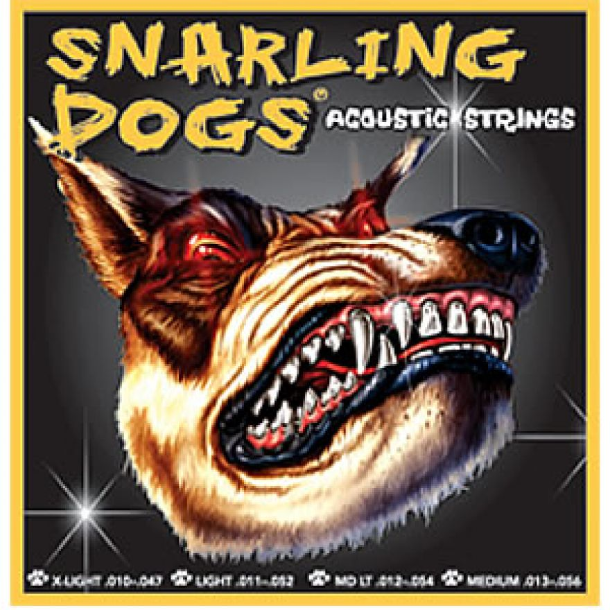 SNARLING DOGS SDP12 - MUTA CORDE PER CHITARRA ACUSTICA (012-054)