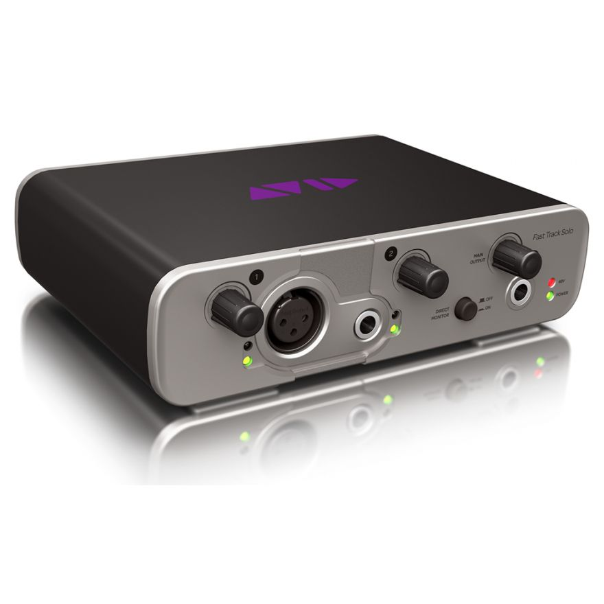 AVID Fast Track Solo + Pro Tools Express