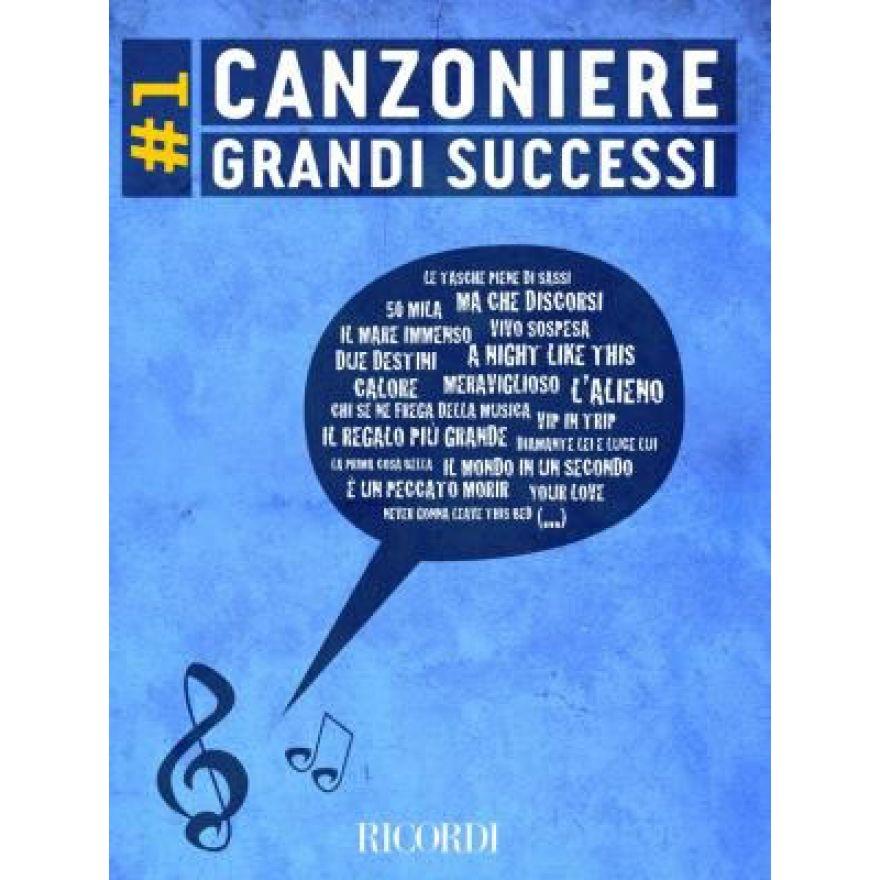 RICORDI CANZONIERE GRANDI SUCCESSI 1