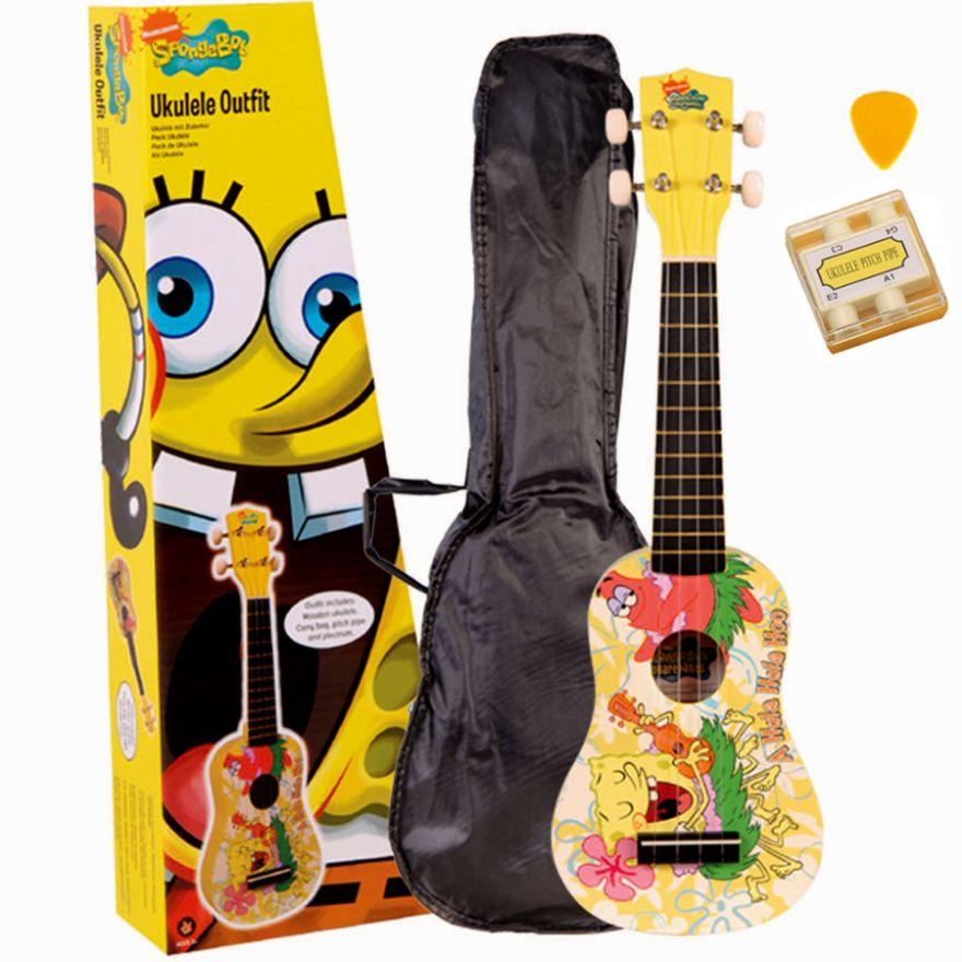 SpongeBob KIT Ukulele + Accessori