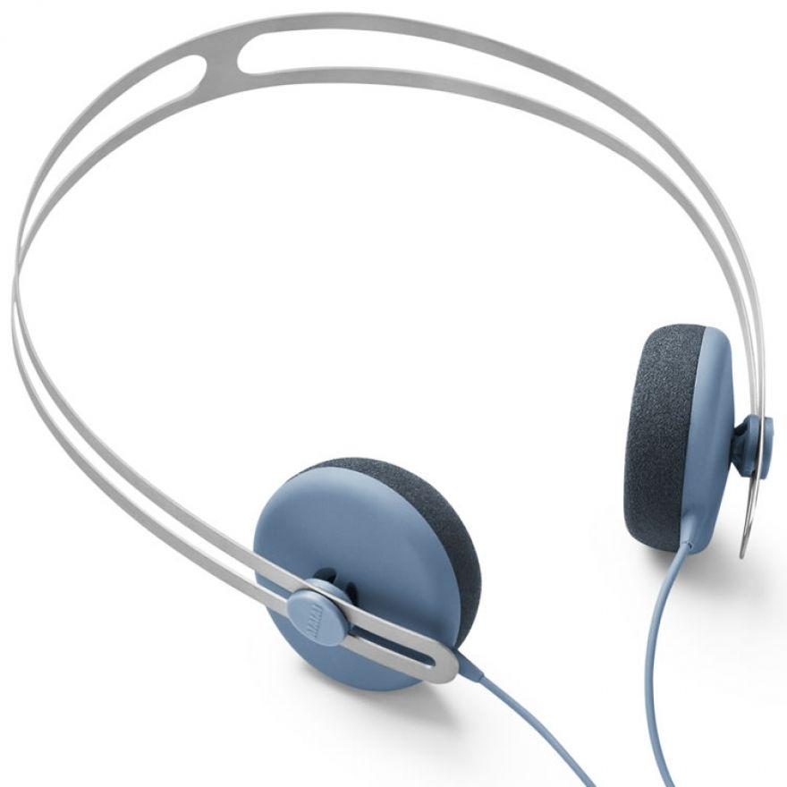 AIAIAI Tracks PETROL BLUE W MIC -CUFFIA CON MICROFONO PER iPad,
