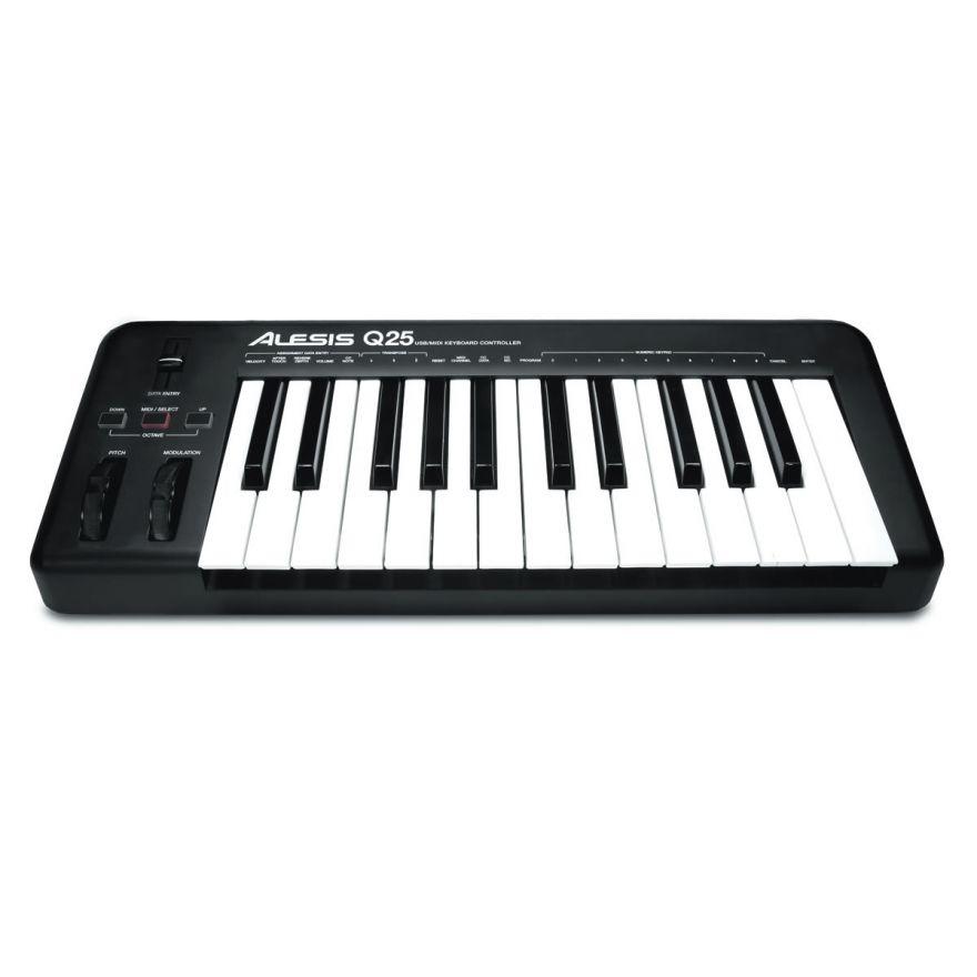 0-ALESIS Q25 Tastiera MIDI