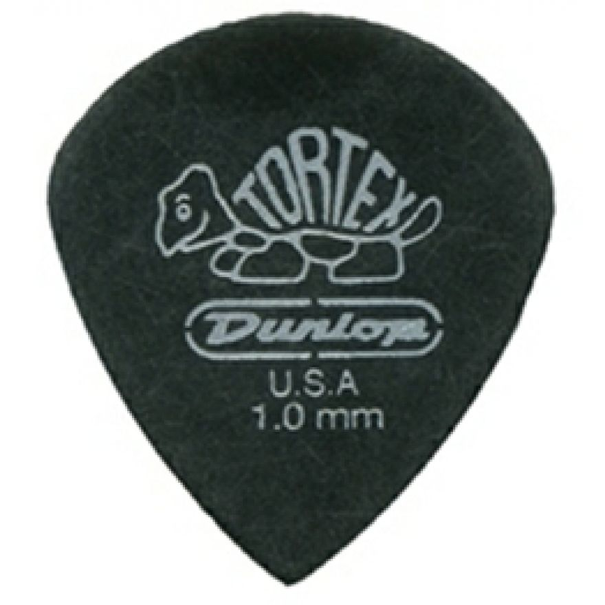 DUNLOP 482P - 6 PLETTRI TORTEX 'PITCH BLACK JAZZ III' .88mm