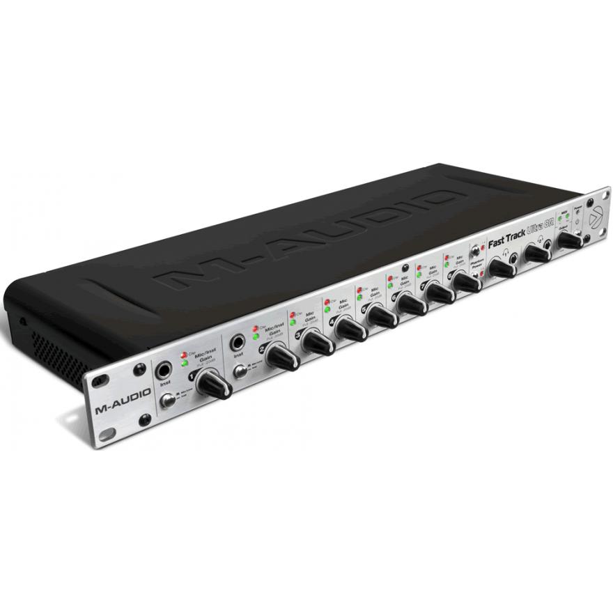M-AUDIO FAST TRACK ULTRA 8R USB - INTERFACCIA AUDIO DIGITALE USB
