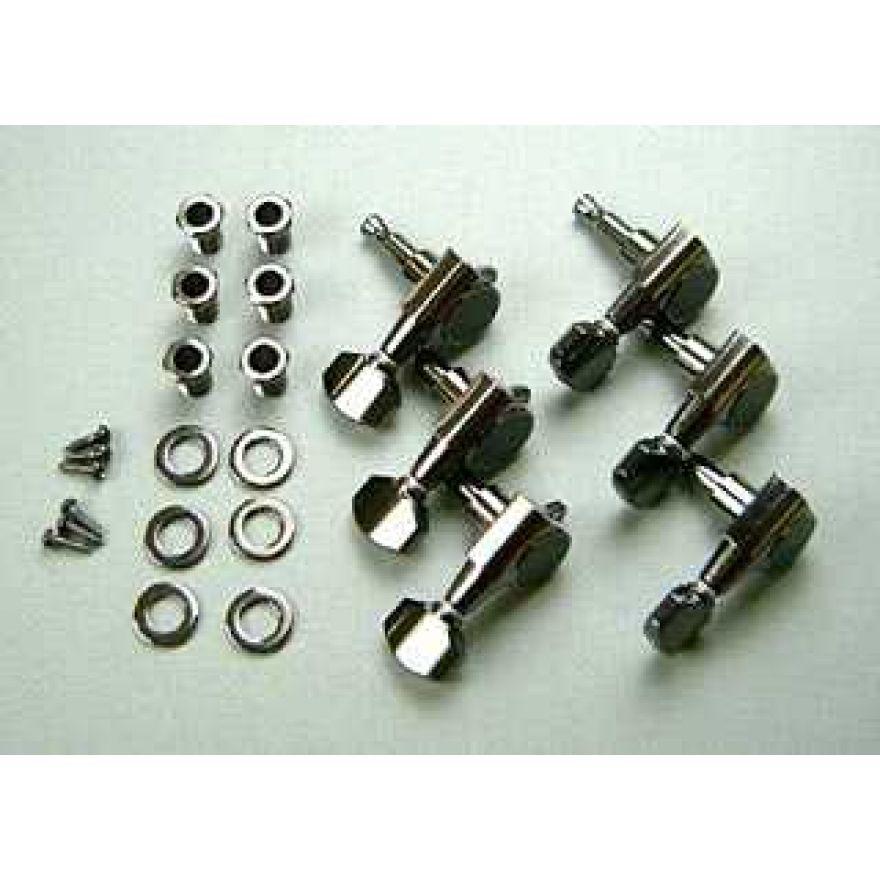 Ibanez Meccaniche per elettriche mancine con chiavi in linea - brunito