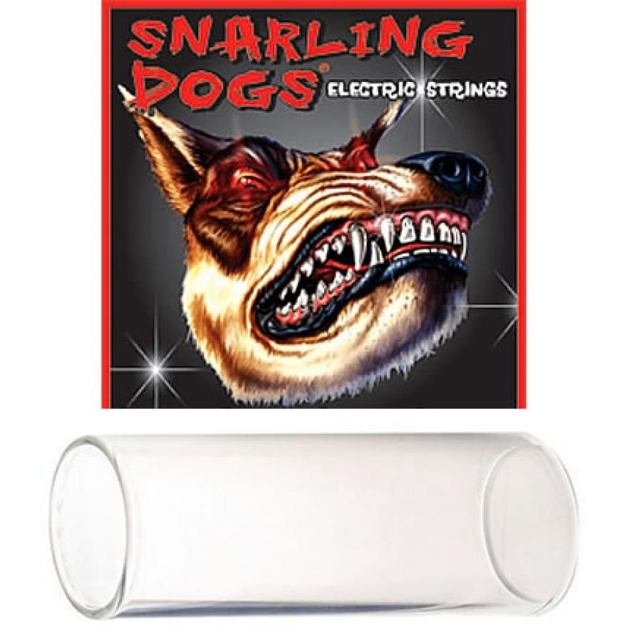 SNARLING DOGS 200 - SLIDE IN VETRO (SINGLE GLASS GUITAR)