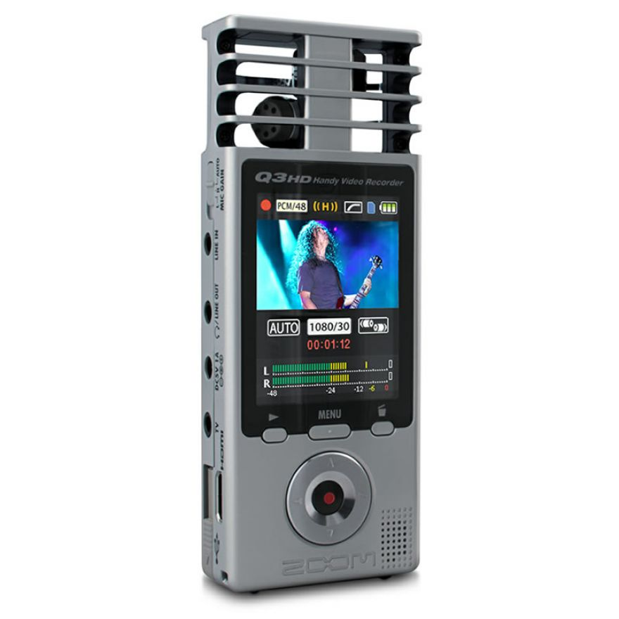 ZOOM Q3HD - REGISTRATORE AUDIO/VIDEO DIGITALE + SD 2GB Omaggio!