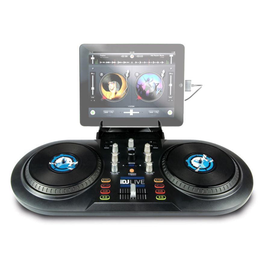 NUMARK iDJ LIVE - CONTROLLER DJ PER iPad, iPhone, iPod Touch