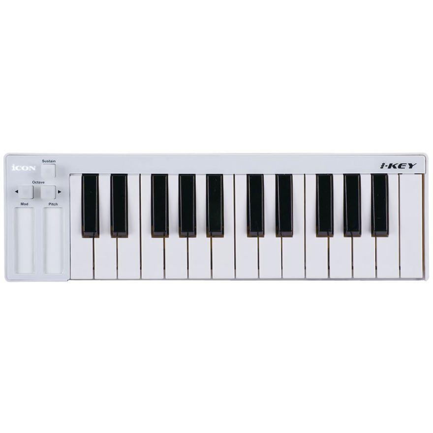 ICON iKEY - MINI CONTROLLER USB-MIDI CON TASTIERA 25 NOTE