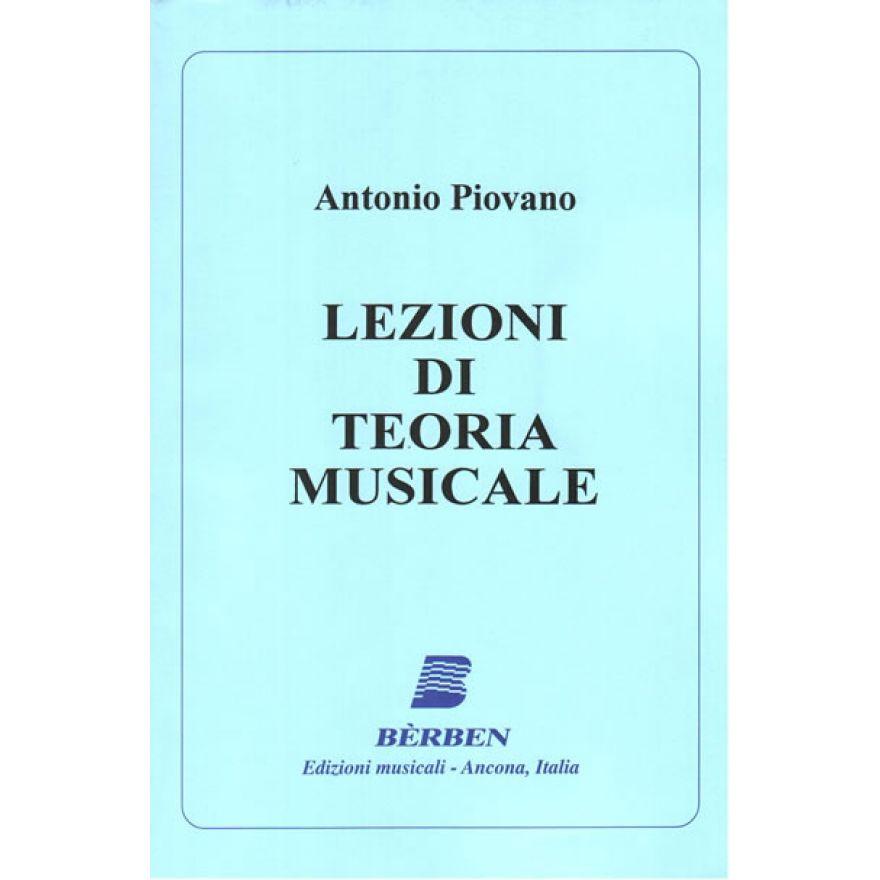 BE'RBEN Piovano Antonio - LEZIONI TEORIA MUSICALE