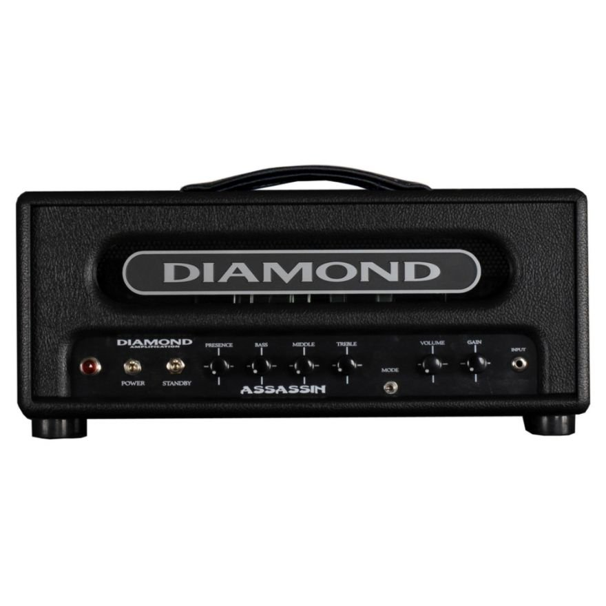 DIAMOND ASSASSIN - TESTATA 18W, 3 x 12AX7, 2 x EL84