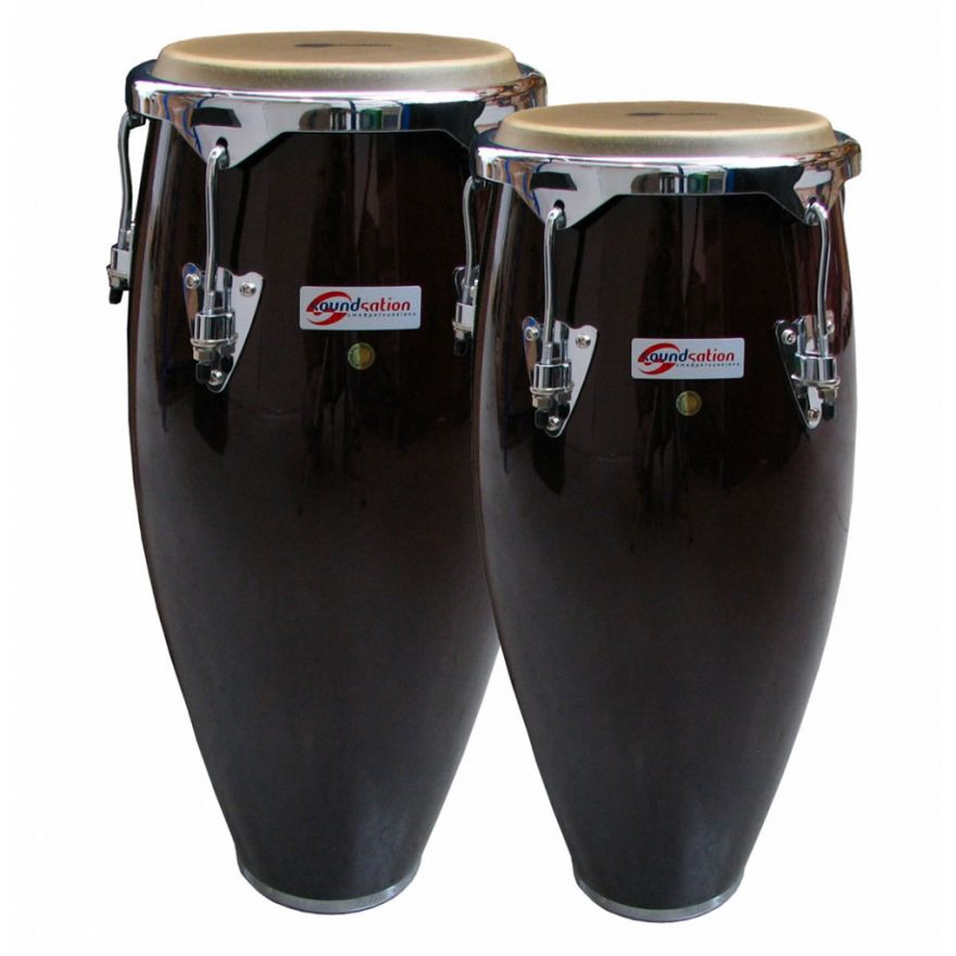 SOUNDSATION SCO10-DW 10 +11 - Congas 10 + 11 in Legno