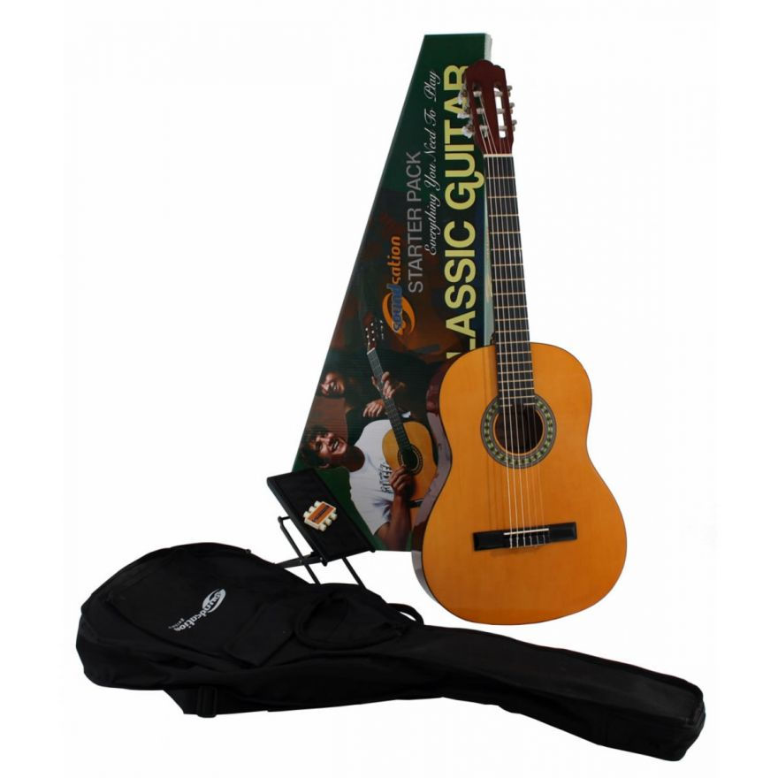 SOUNDSATION CGPKG100 - KIT CHITARRA CLASSICA + ACCESSORI
